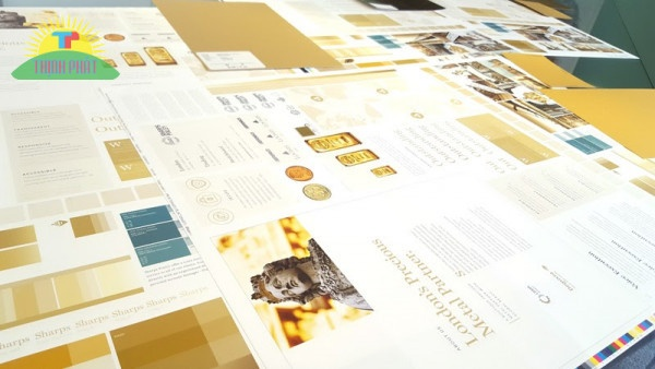 Mẫu in bản cứng dùng cho những ấn phẩm có yêu cầu cao về hình thức và nội dung