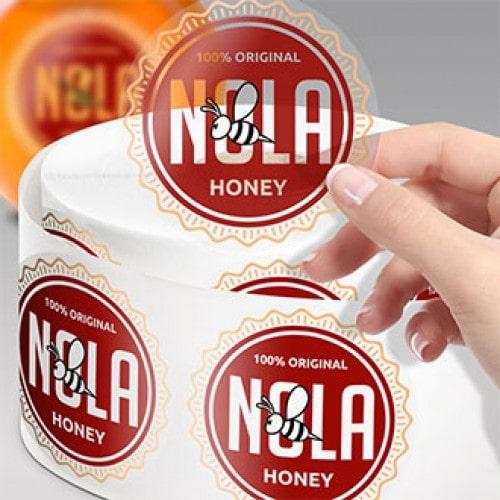 In tem trong thương hiệu mật ong NOLA