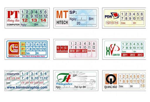 in tem bảo hành giá rẻ theo yêu cầu