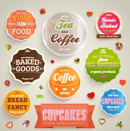 In hình dán cho ngành hàng Tea and Coffee