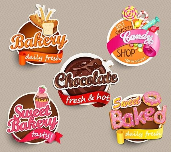 In sticker cho ngành bánh Bakery