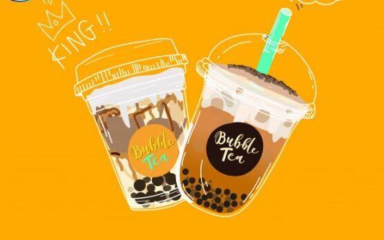 In sticker giá rẻ, thiết kế độc quyền cho ly trà sữa ở TPHCM