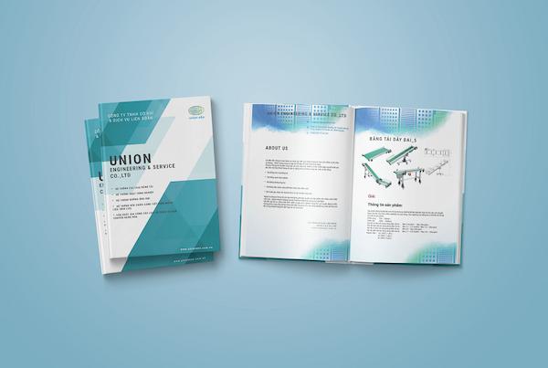 Catalogue của công ty lĩnh vực công nghiệp