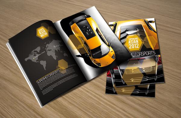 Catalogue của công ty lĩnh vực xe hơi
