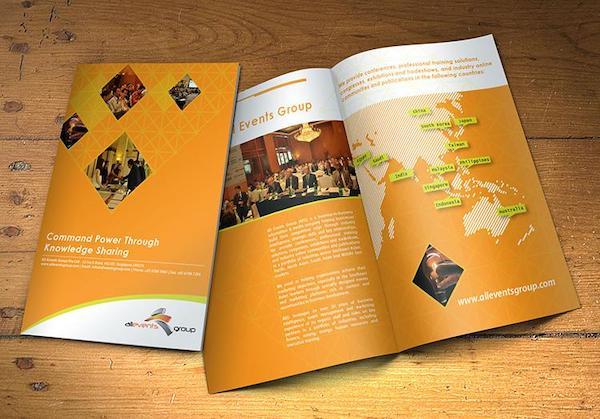 Catalogue của công ty lĩnh vực tổ chức sự kiện