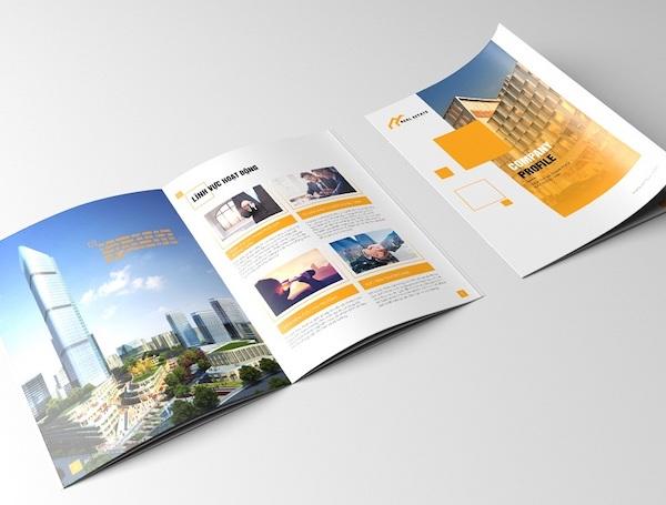 Catalogue của công ty lĩnh vực bất động sản