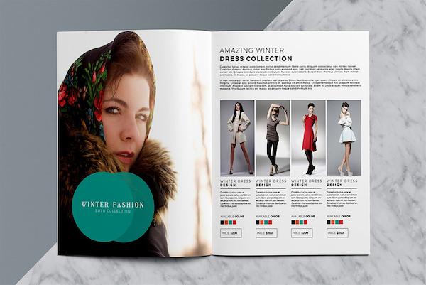 Catalogue của công ty lĩnh vực thời trang