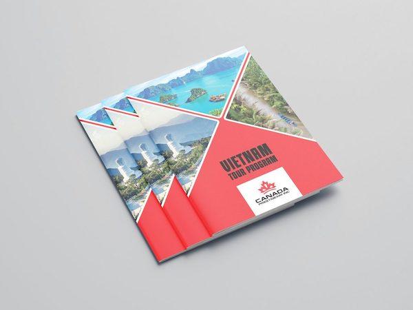 Catalogue của công ty lĩnh vực du lịch
