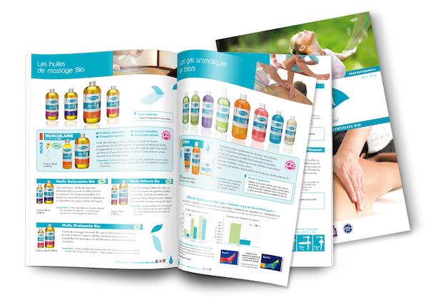 Catalogue của công ty lĩnh vực chăm sóc sắc đẹp