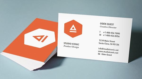 In name card, danh thiếp giá rẻ, chất lượng tại TPHCM